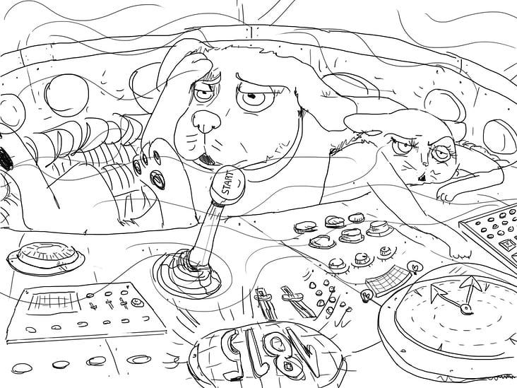 Storyboard Lucky & Luna in Waterloo