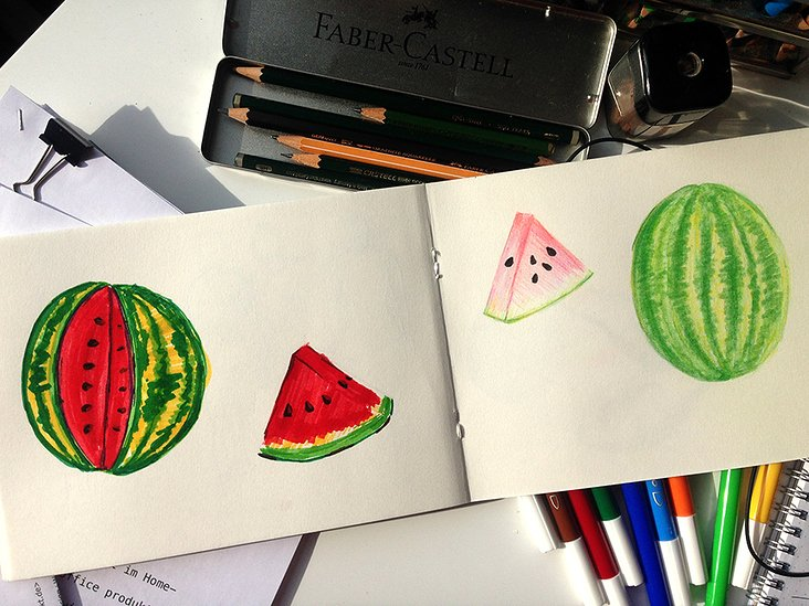 Illustration Wassermelone | 2017