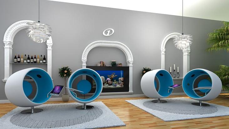 3D Visualisierung Hotel Lobby