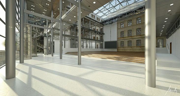 Telekom HSR– Architekturvisualisierung
