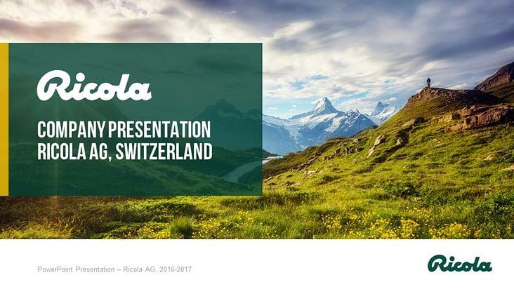 PowerPoint-Praesentation-Ricola-1
