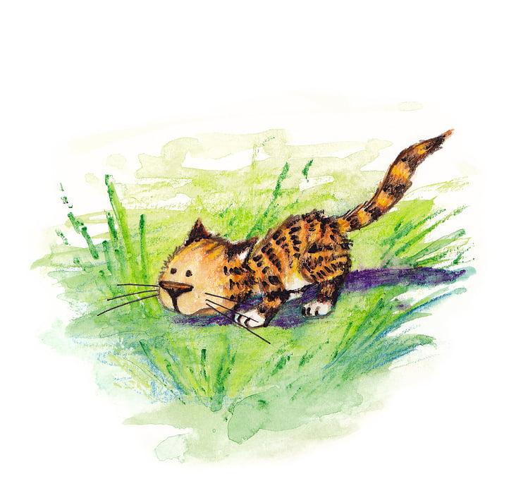 """Kinderbuch """"Die Geschichte vom neugierigen Tigerchen"""""""