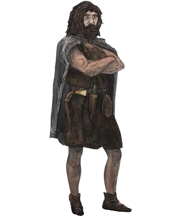Bronzezeit Mann