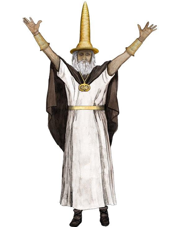 Bronzezeit Priester, Berliner Goldhut
