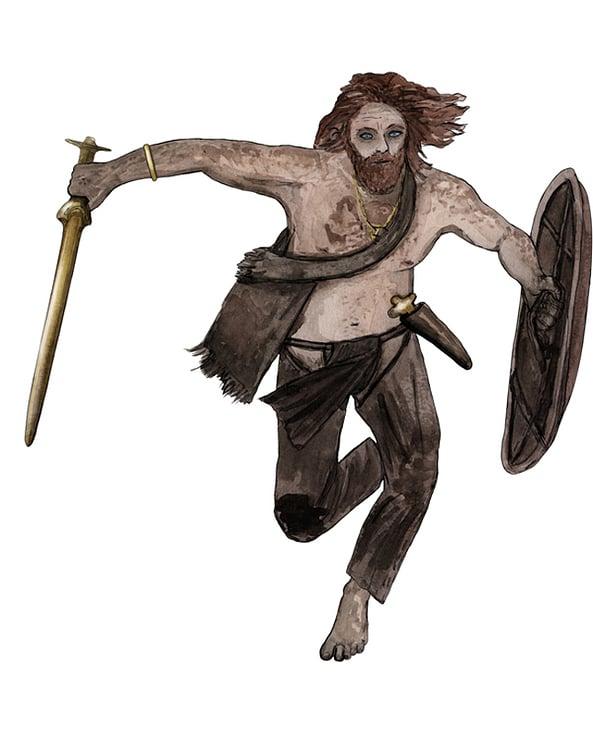 Bronzezeit Kämpfer