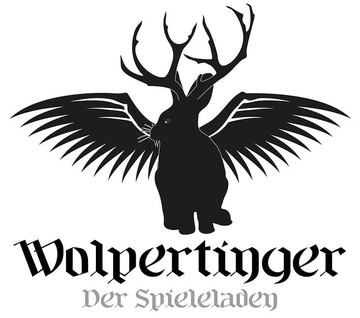 Logo Design Wolpertinger– Der Spieleladen
