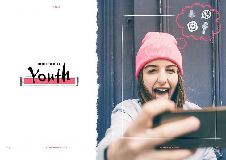 Konzept und Gestaltung Youth-Segment