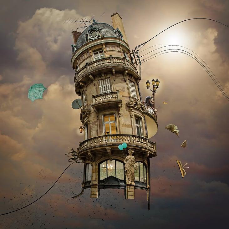 """""""Über all die Jahre hatte sich einfach zu viel Ballast im alten Turm angesammelt..."""""""