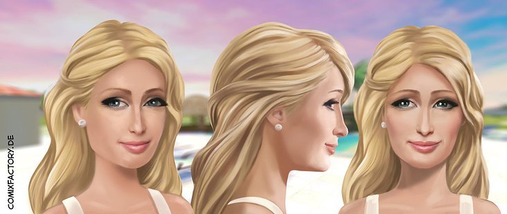 Game Character Design, Paris Hilton
