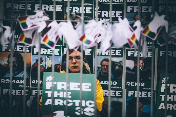 Greenpeace – Free the Arctic 30 Tour
