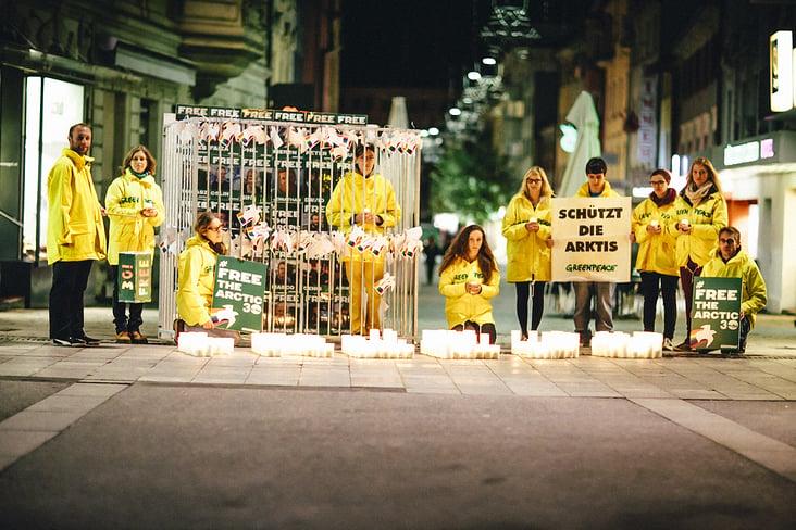 Greenpeace– Free the Arctic 30 Tour