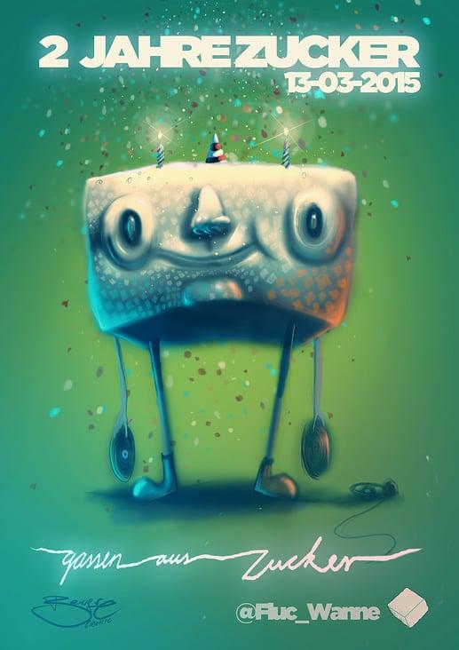 Gassen Aus Zucker  Poster Design