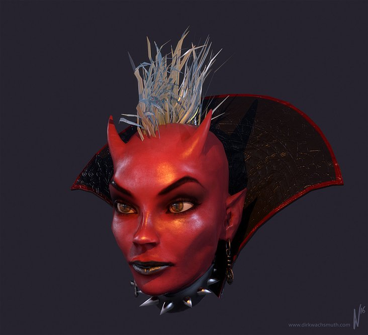 Devil Girl (Client: Mybrana Network, SL)