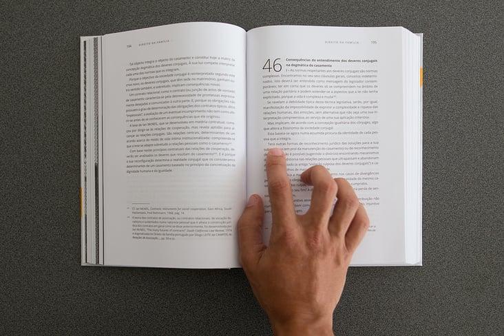 Buch, Layout und Textsatz
