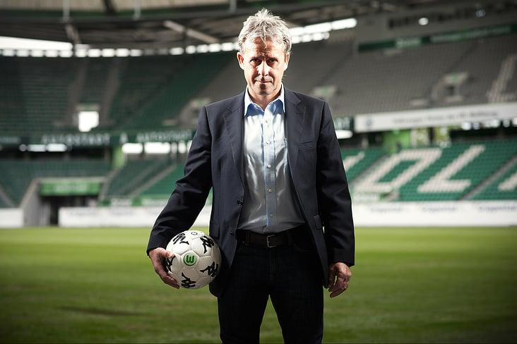 Pierre Littbarski, Chefscout beim VFL Wolfsburg.
