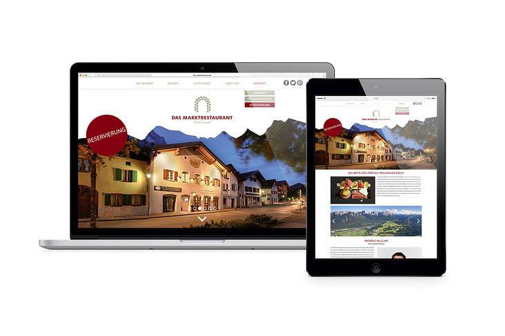 Website Marktrestaurant