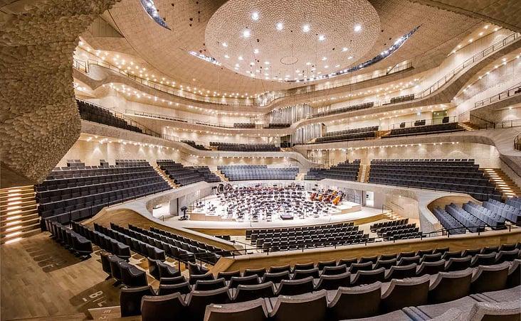 Konzerthalle der Elbphilharmonie