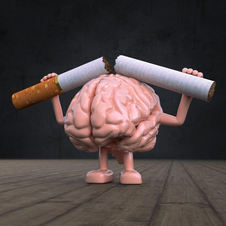 """3D Caracter """"Das Rauchen aufhören"""""""