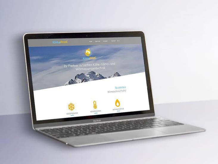 KlimaProfi– Website
