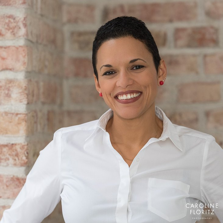 Business Portrait von Maribel Ortega, Executive Coach