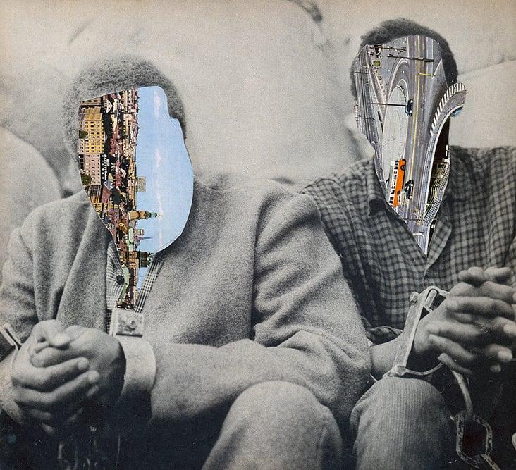 "Analoge Collage ""Stockholm"""