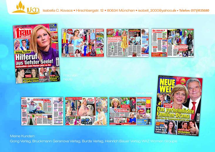 Zusammenfassung von Magazinen