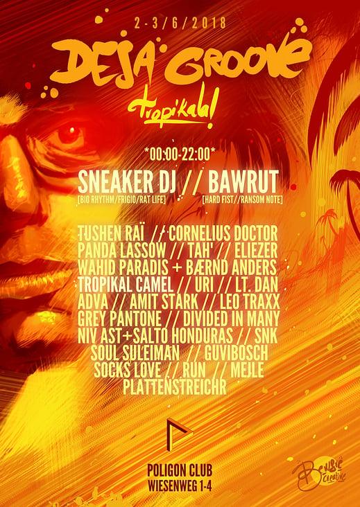 Deja Groove Poster