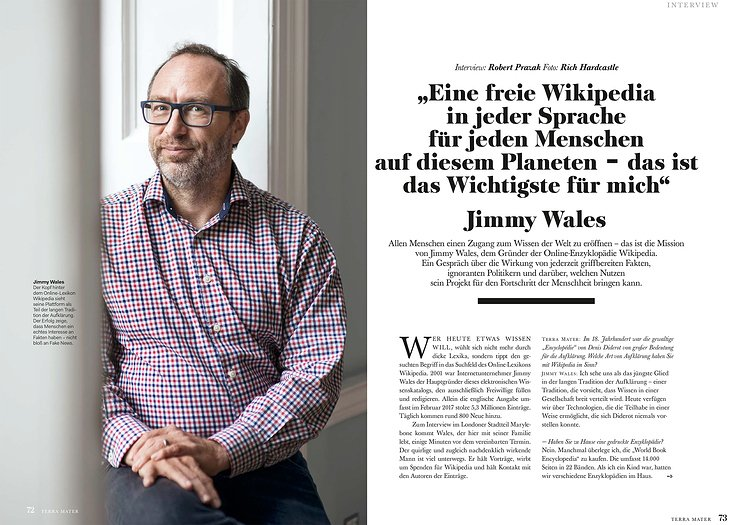 Interview Jimmy Wales Terra Mater