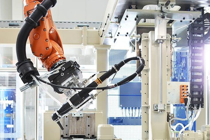 Industriefotografie / Montageroboter