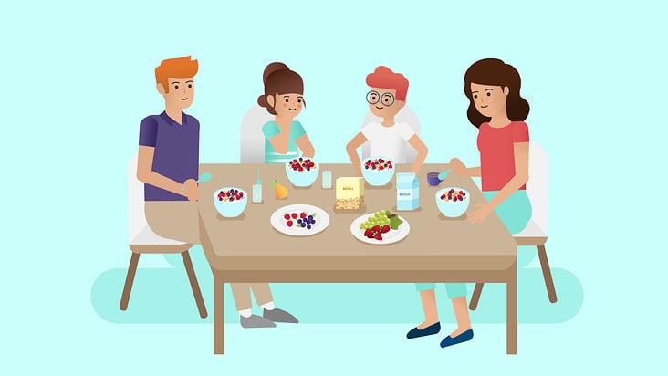 Erklärvideo Ernährung Schule