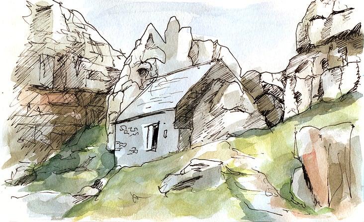 St. Govans Chapel
