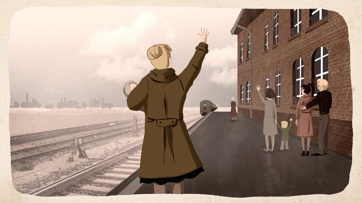 Szene 6: Abfahrt