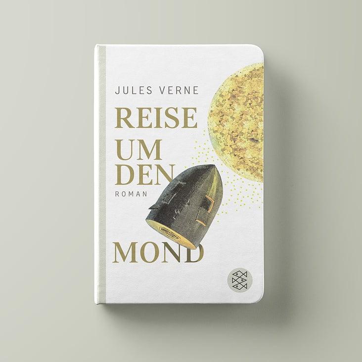 Fischer Taschenbibliothek – Jules Verne – Reise um den Mond