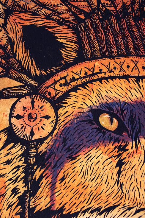 Fuchs in der Küche_Detail