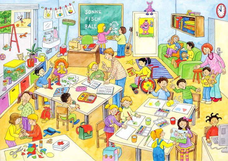Im Klassenzimmer fickt man gut