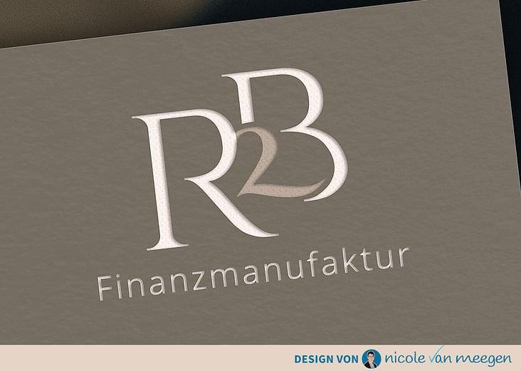 Logo & Corporate Design für die R2B Finanzmanufaktur