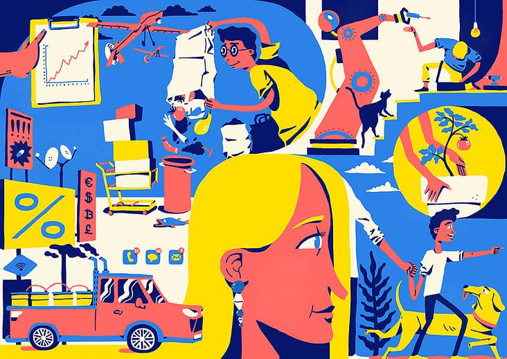 Illustrationen von Jens Roth