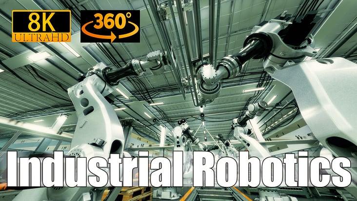 8K | 360° | Industrial Robot Factory