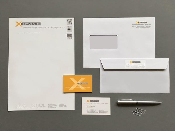 Corporate Design + Logo Röntgendienstleister
