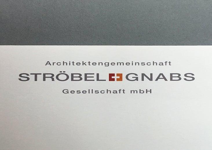 Architekten Logo Ströbel + Gnabs