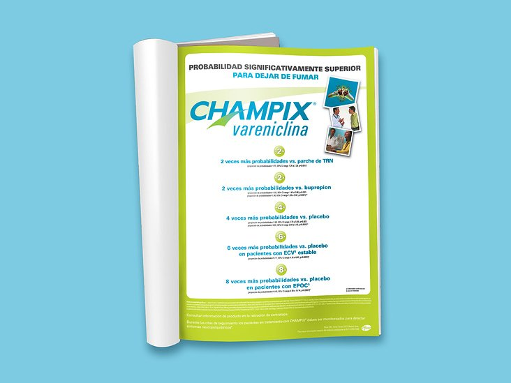 Pharmaceutical Ad for Pfizer — Champix