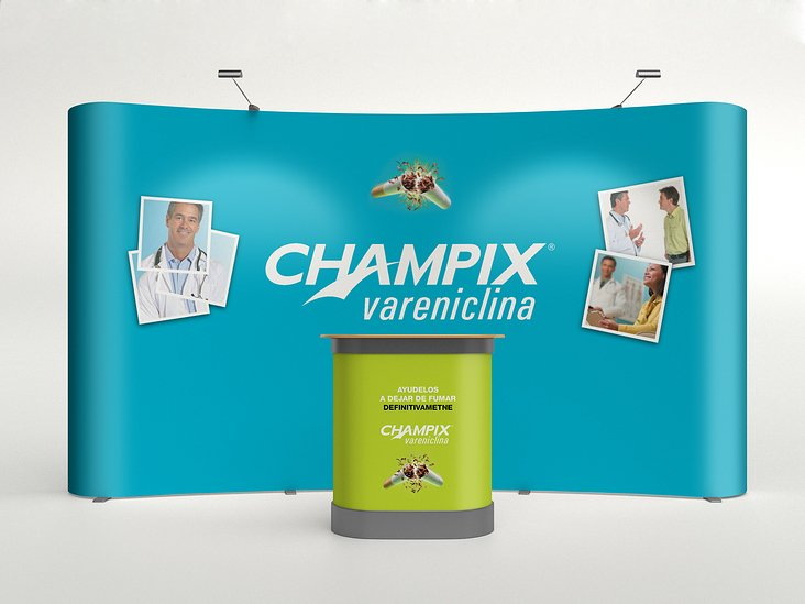Event Booth for Pfizer— Champix