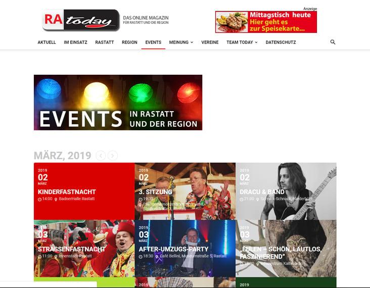 RA Today– Das Online Magazin für Rastatt und die Region