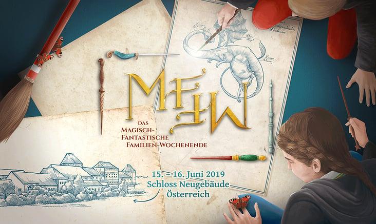 Titel-Illustration für die Website des Events