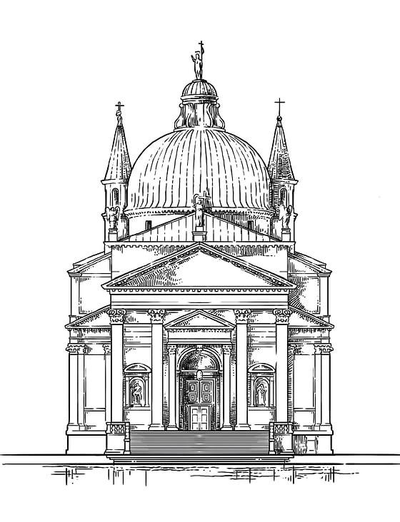 Illustration für eine Einladung