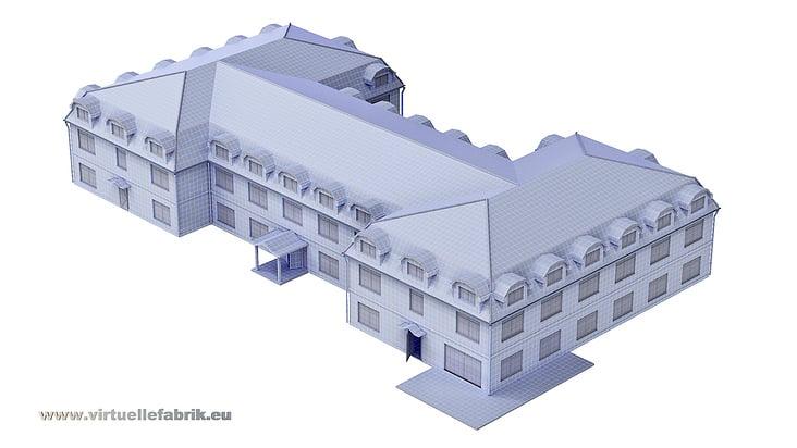 3D Modell Architektur