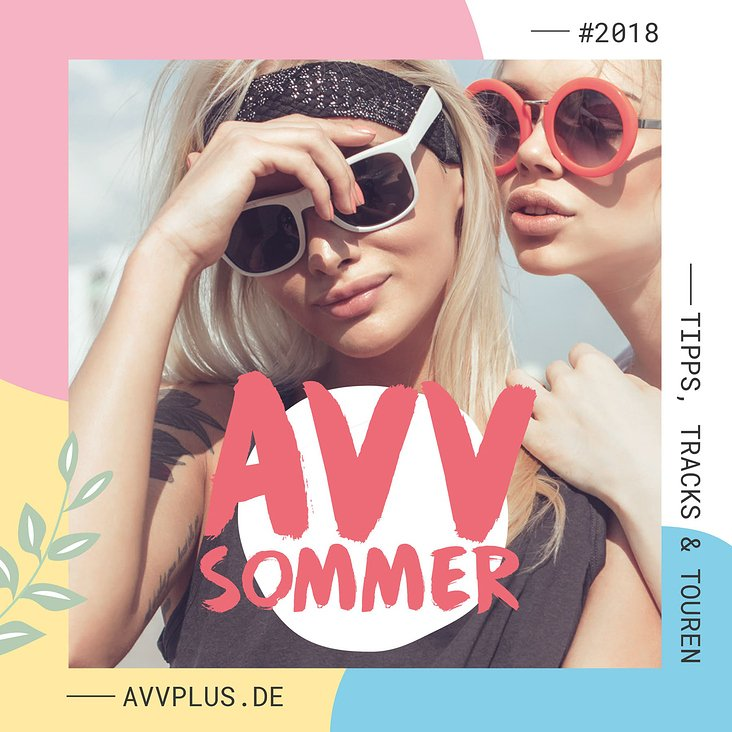 Dein AVV-Sommer 2018 | Key Visual