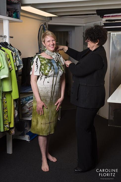 (9/14) Visual Storytelling: Ein Genuss für alle Sinne: Zu Besuch bei Hilde Polz im Mode Atelier