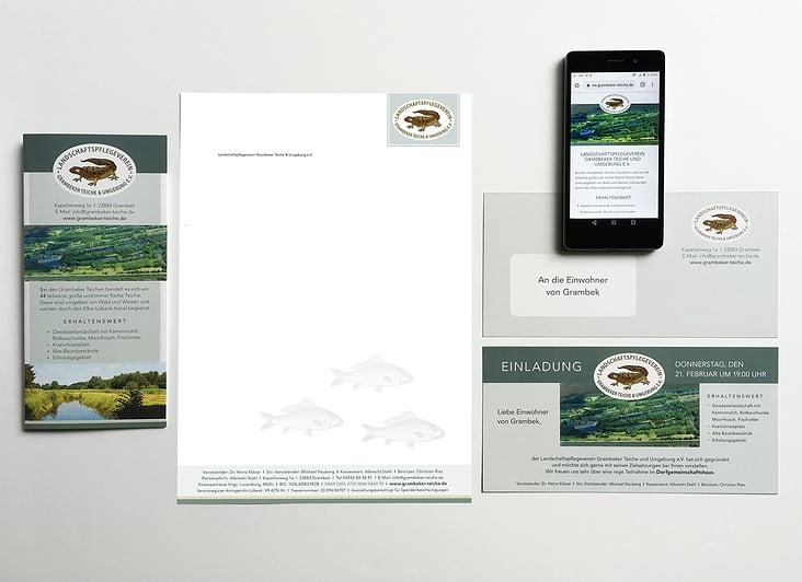 Corporate Design – Logo, Geschäftspapiere, Flyer, Web