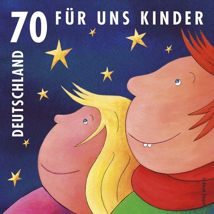 """""""Für uns Kinder 3"""" Briefmarke"""